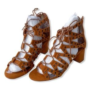 Xyd Shoes Strappy Gladiator Open Toe Lace Up Rome Poshmark
